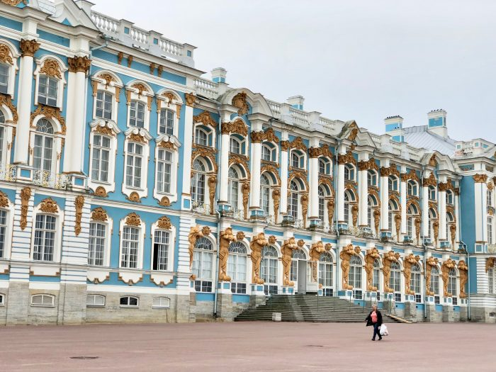 Exterior, The Catherine Palace