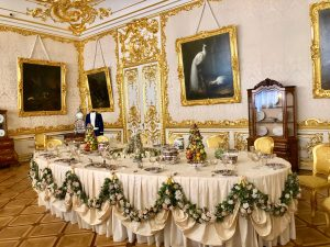 White State Dining Room. Catherine Palace