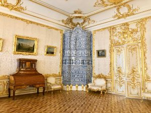 Small White Dining Room. Catherine Palace