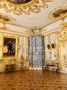 Chinese Drawing Room of Alexander I. Catherine Palace