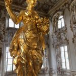 Gilded Statue, Grand Staircase