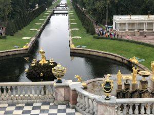 Peterhof Gardens. Sea Canal. Lower Park