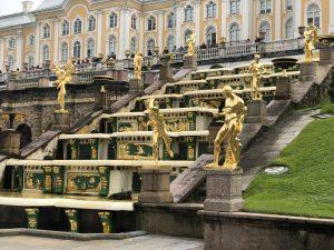 Peterhof. Grand Cascade Fountain