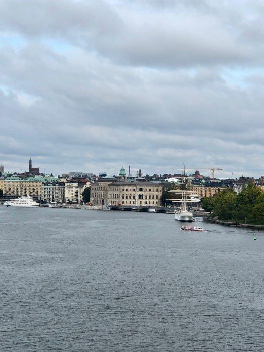 Stockholm From Island of Djurdarden
