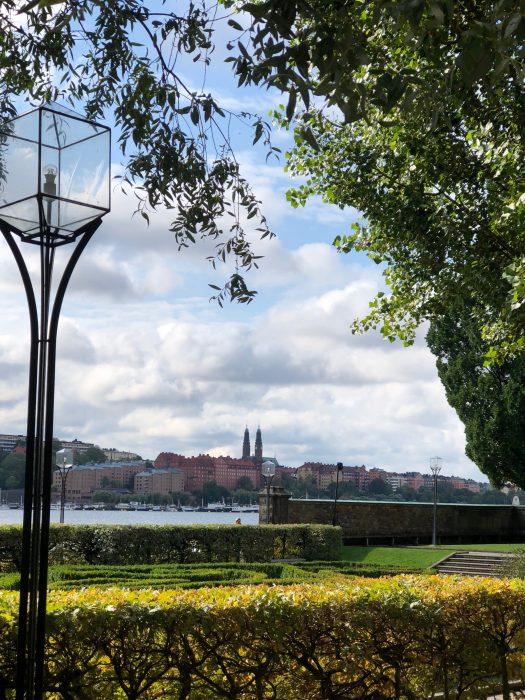Stadhusparken by city hall