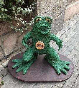 Riga Green Frog