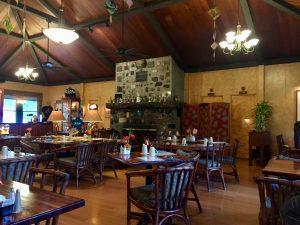 Kilauea Lodge dining room