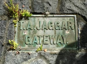 T A Jaggar sign