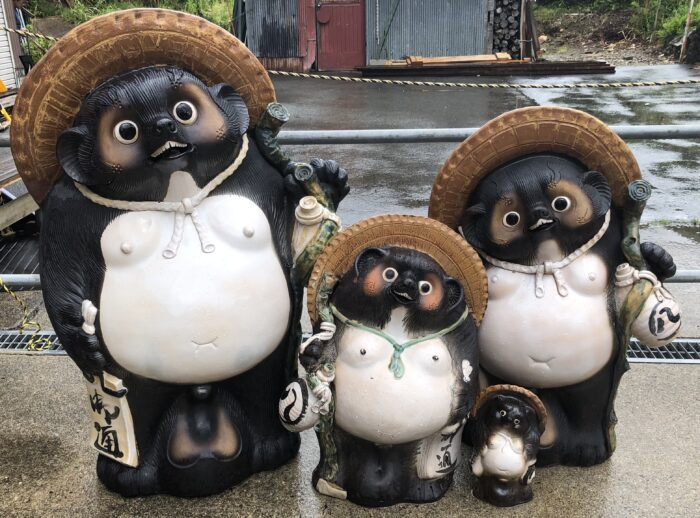 Group of Tanuki