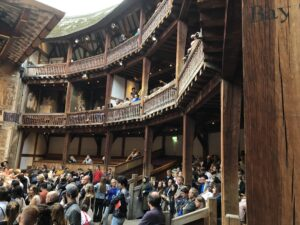 Galleries & Pit of Shakespeare's Globe