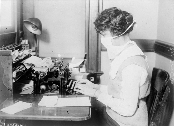 Influenza Epidemic, 1918, Wikipedia Commons
