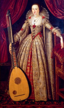Portrait of Mary Wroth