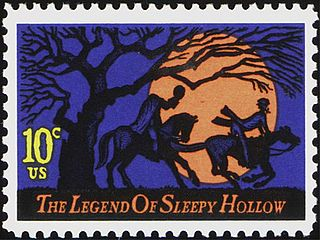 Postage Stamp: Legend of Sleepy Hollow