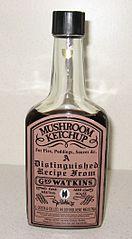 Geo. Watkins Mushroom Ketchup