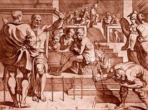 Odysseus with bow