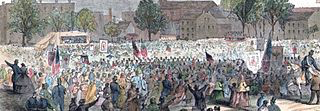 Washington D. C. During Emancipation Day Celebration by Nrrosenb.