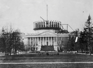 Capital Building Under Construction