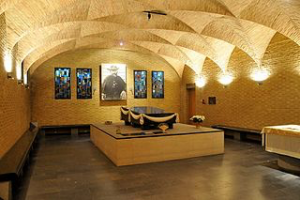 Fr. Damien's Crypt at Leuven, Belgium