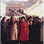 President & Mrs. Nixon at Great Wall