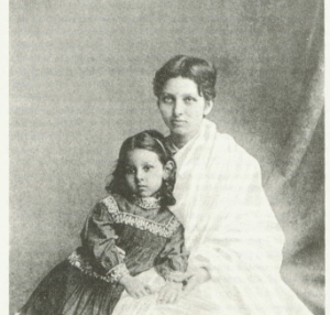 Ramabai with daughter, Manorama