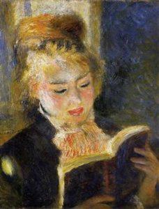 Renoir. The Reader