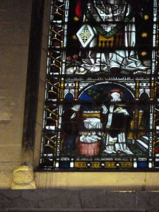 St. Nicholas Window, Rochester Cathedral