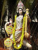 Sarasvati, Photo by Christina Kunda, 2007, Wikimedia Commons