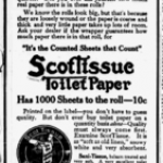 Scott Tissue Toilet Paper