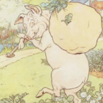 pig with turnips