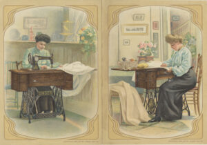 Advertisement. Singer Sewing Machine 1904