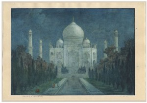 'Taj_Mahal,_Agra'_by_Charles_Bartlett,_ca._1923-1925_(large_version)