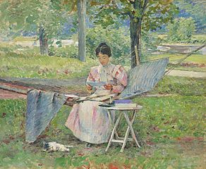 Theodore_Robinson_-_Correspondence_(1895)