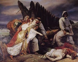 Vernet_Edith_discovering_King_Harold's_corpse_on_the_battle_field_of_Hastings