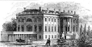 White House. Mid 19th Century