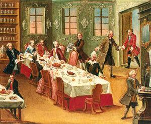 18th Century Festive Meal