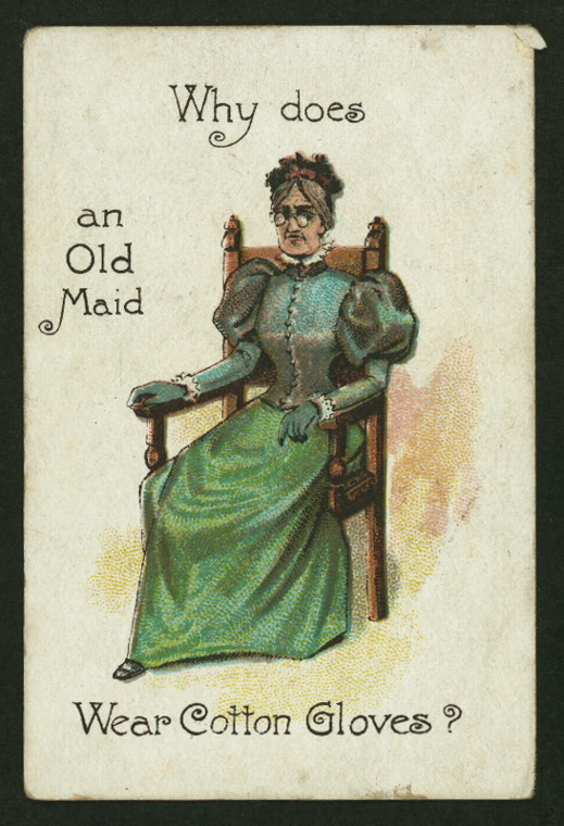 Old Maid's Day – Really?